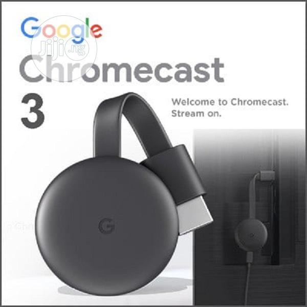 Buy Google Chromecast 3 Original Netflix Youtube Smart Tv HD