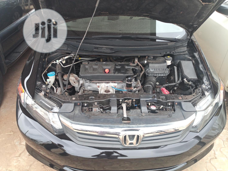 Archive: Honda Civic 2013 Sedan EX Black