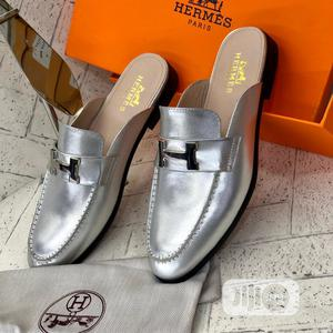 Hermes Silver Half Shoe   Shoes for sale in Lagos State, Lagos Island (Eko)