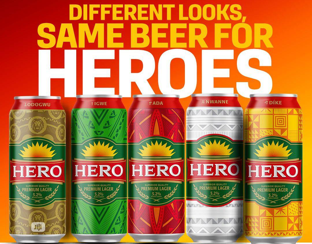 Hero Can Drink By 24pcs