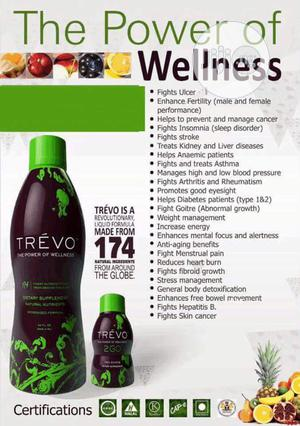 Trevo Liquid 473ml For Body Wellness   Vitamins & Supplements for sale in Lagos State, Yaba