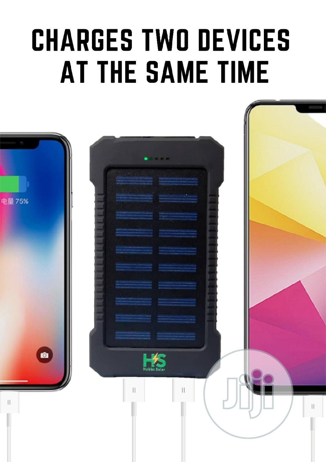 Archive: 20000MAH Solar Power Bank With Dual USB And LED Light