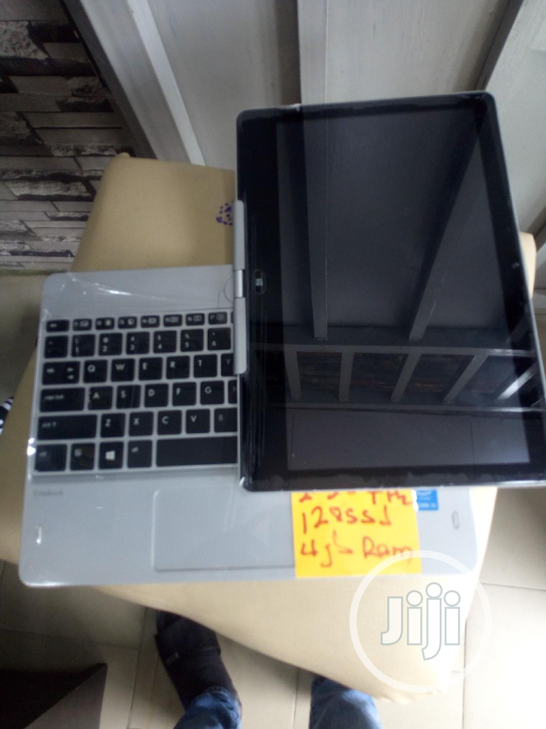 Laptop HP EliteBook Revolve 810 G2 Tablet 4GB Intel Core i5 SSD 128GB | Laptops & Computers for sale in Ikeja, Lagos State, Nigeria