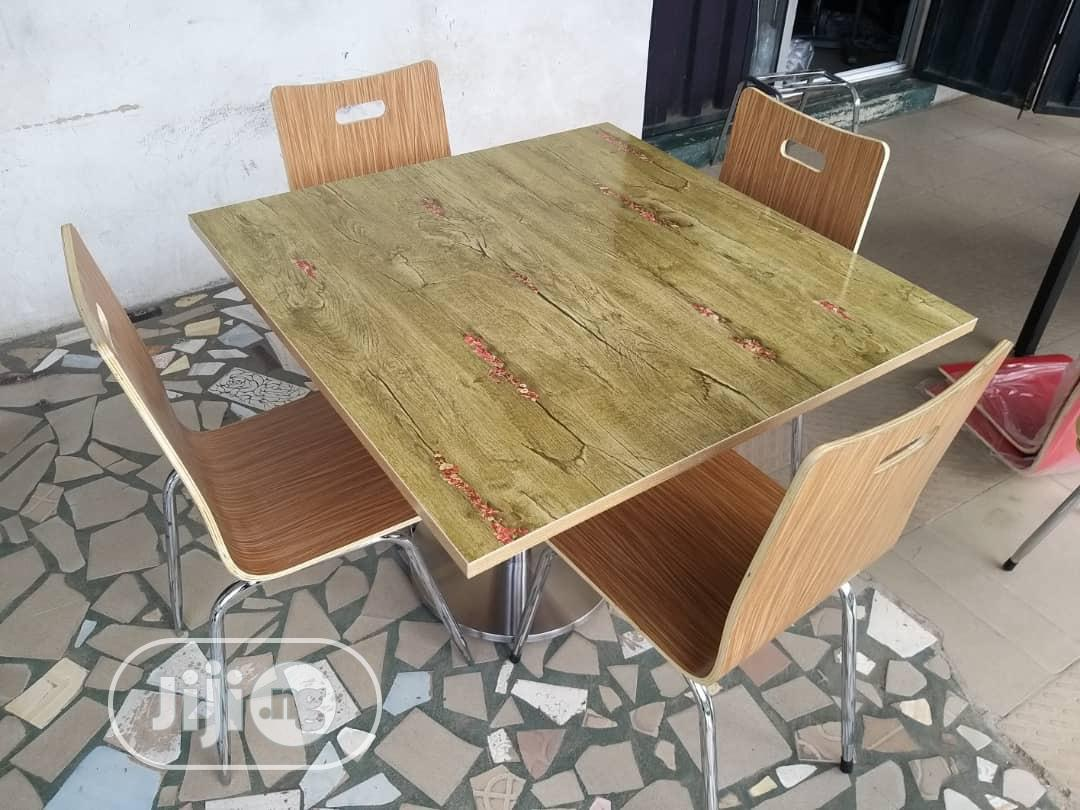 Archive: Quality 4 Seater Table And Chair