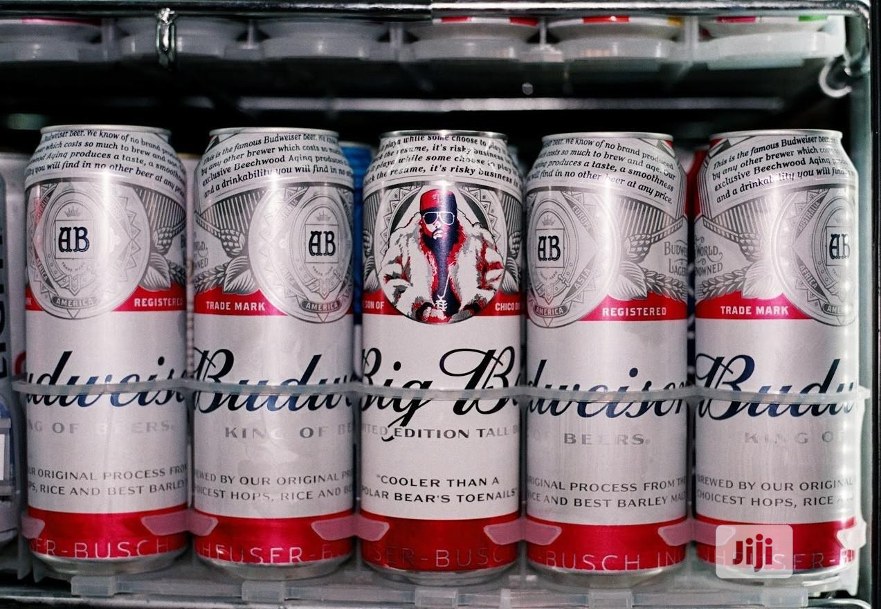 Budweiser Can Drink By 24pcs