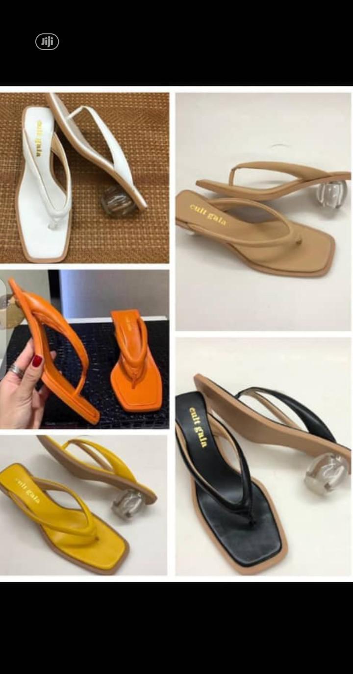 New Quality Female Heel Slippers