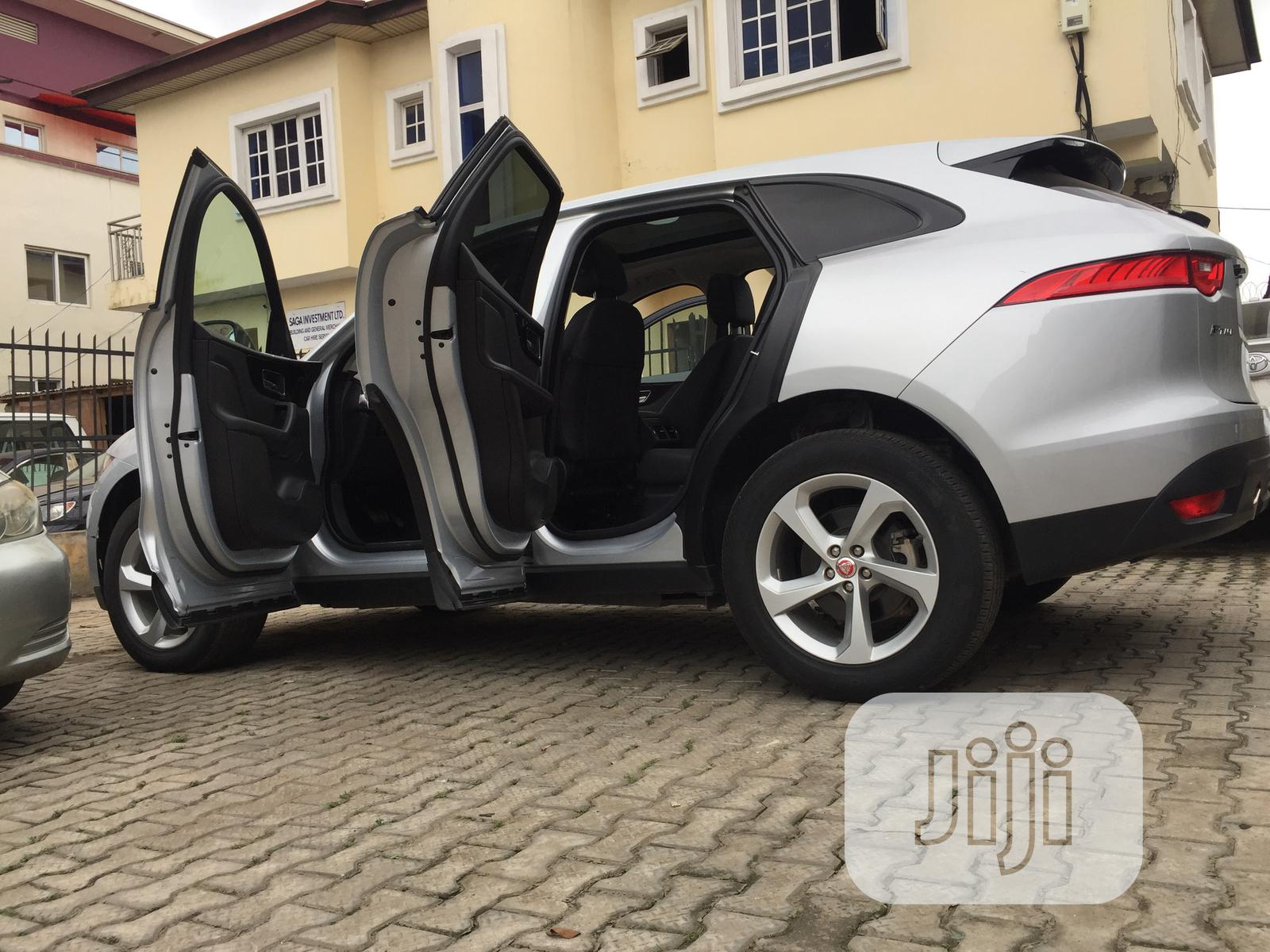 Jaguar F-Pace 2018 Silver | Cars for sale in Ikeja, Lagos State, Nigeria