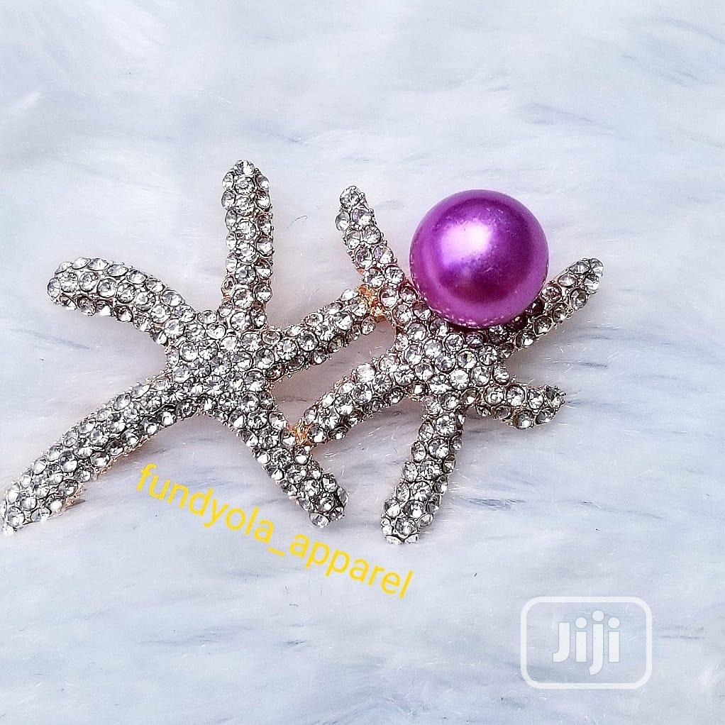Unisex Vintage Brooch   Jewelry for sale in Ajah, Lagos State, Nigeria