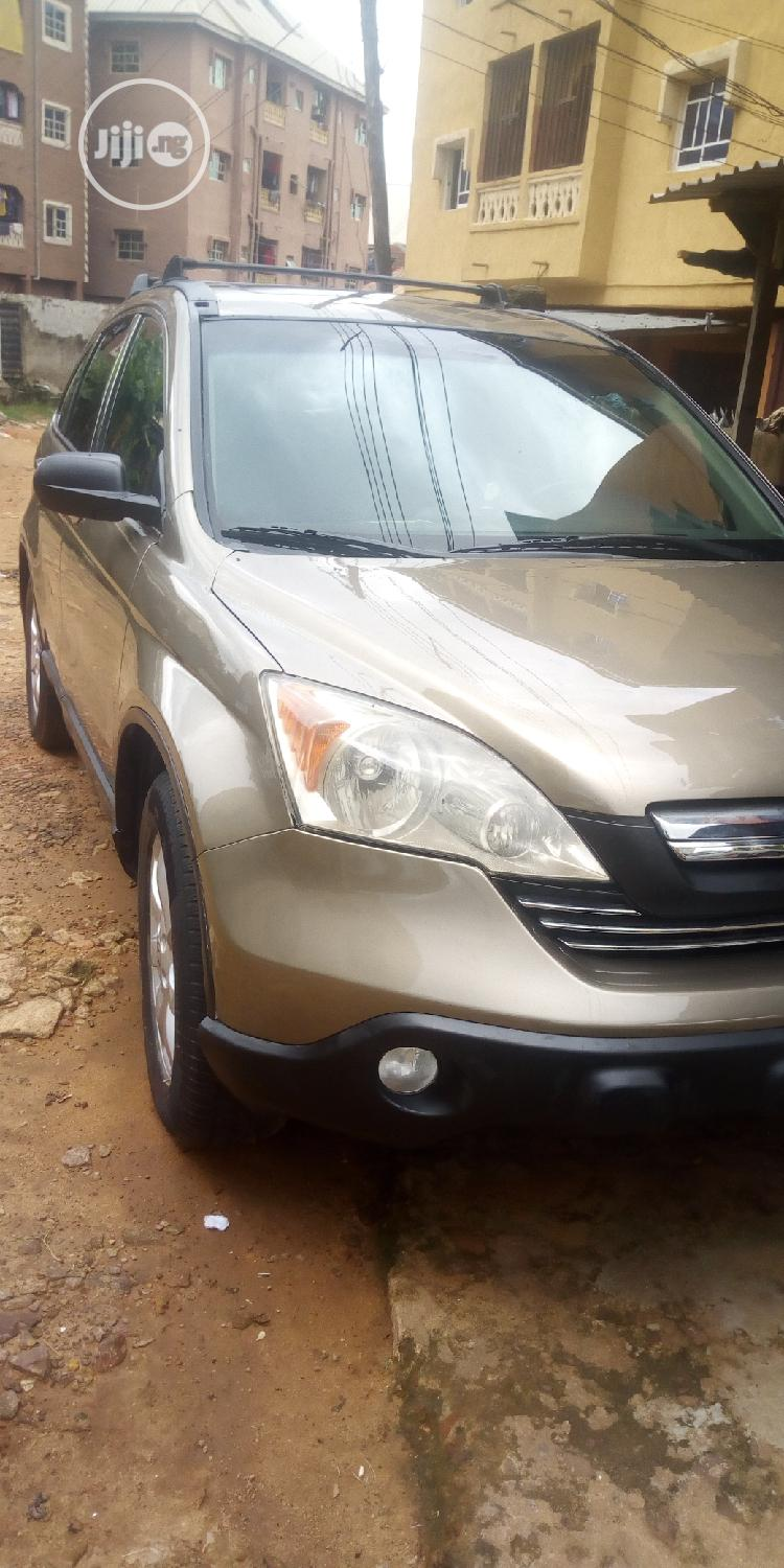 Honda CR-V 2.0i Executive Automatic 2008 Brown | Cars for sale in Onitsha, Anambra State, Nigeria