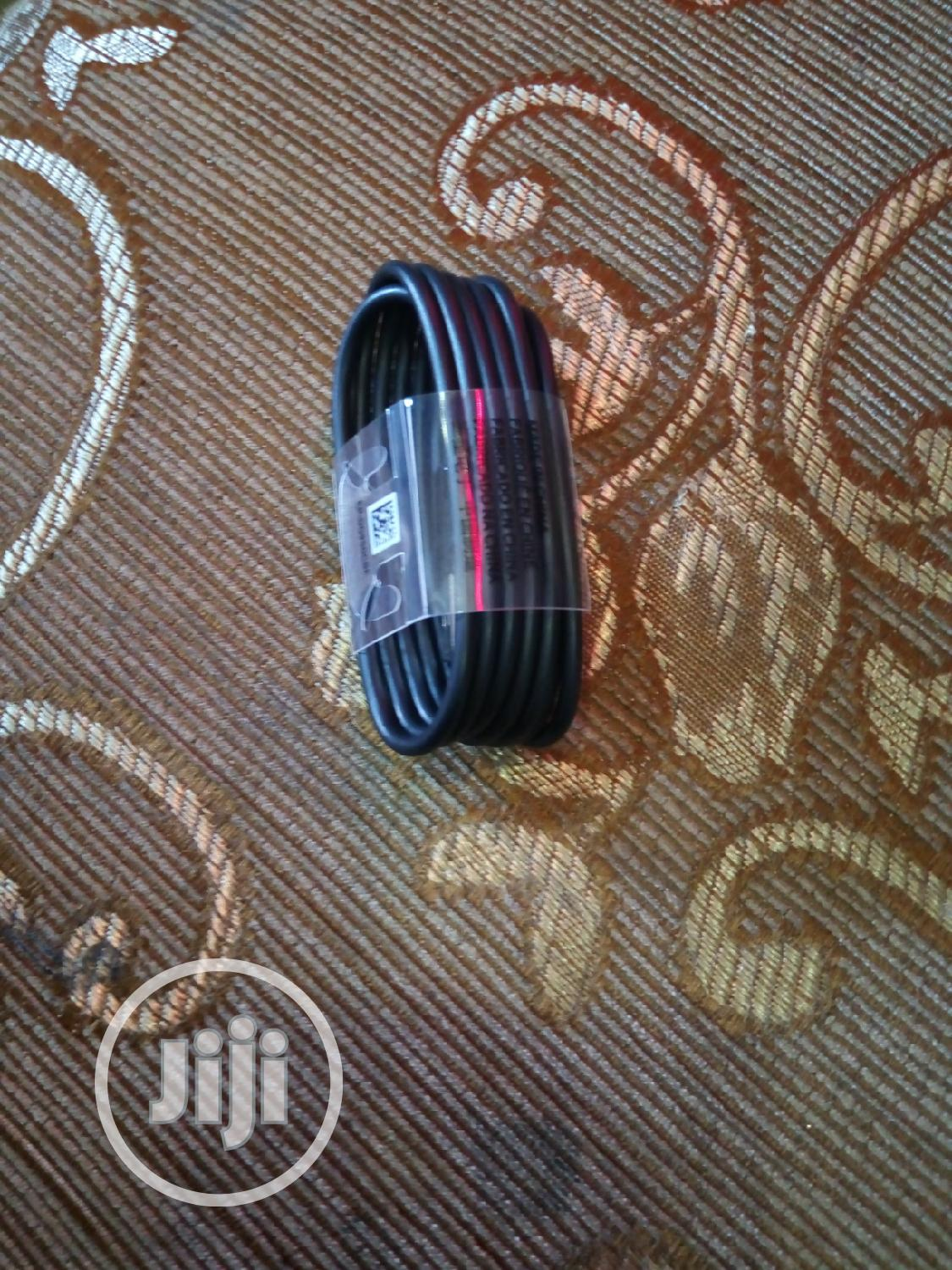 Original Samsung/Any Type C Cable   Accessories for Mobile Phones & Tablets for sale in Wuse, Abuja (FCT) State, Nigeria