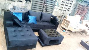 New Set of L-Shaped Sofa With a Center Table | Furniture for sale in Lagos State, Egbe Idimu