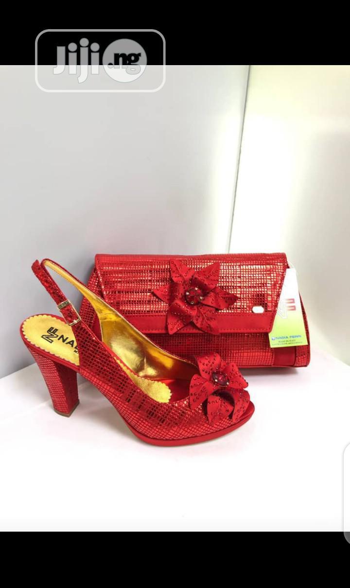 Italian Nadia Ferri Shoe and Bag | Shoes for sale in Lagos Island (Eko), Lagos State, Nigeria