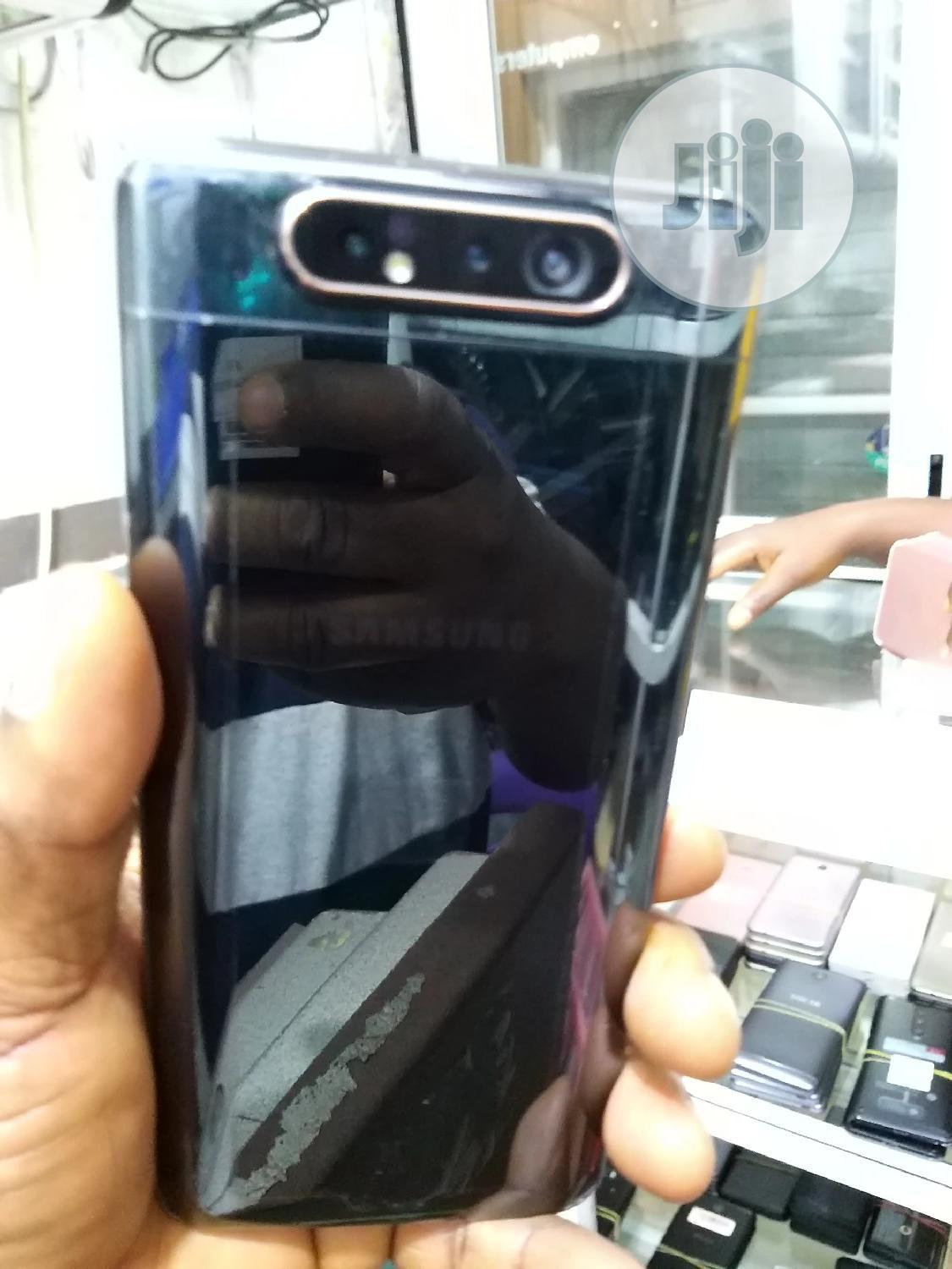 Samsung Galaxy A80 128 GB Black | Mobile Phones for sale in Ikeja, Lagos State, Nigeria