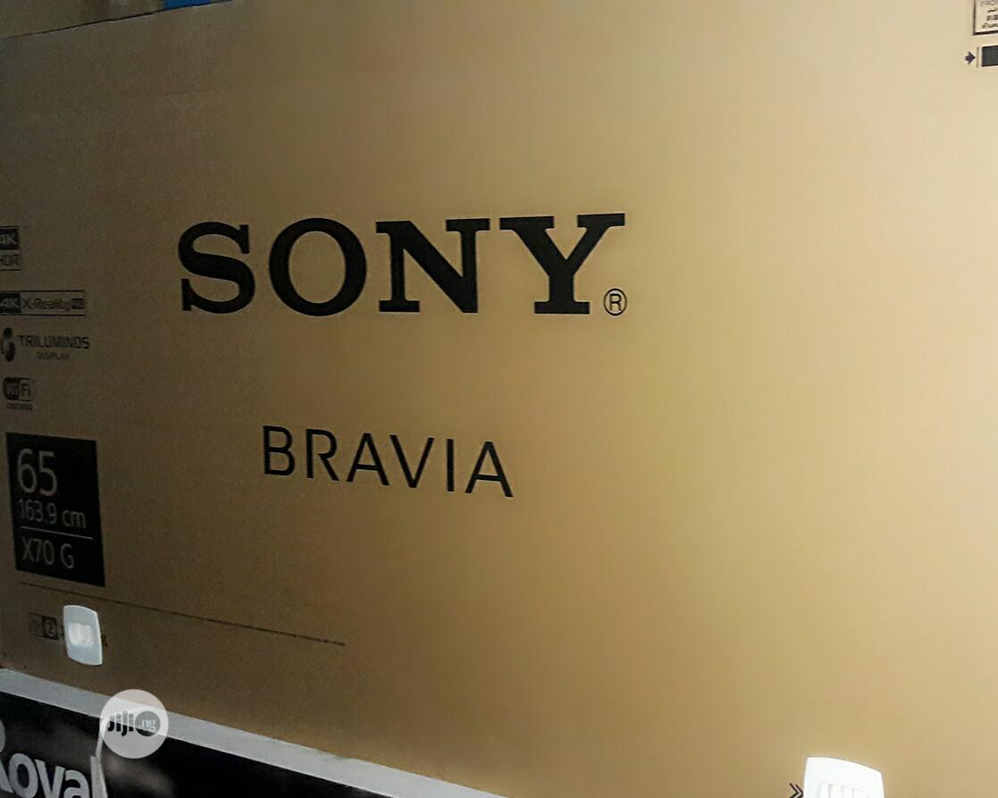 Archive: SONY 65X7000G Bravia 4K Hdr LED TV