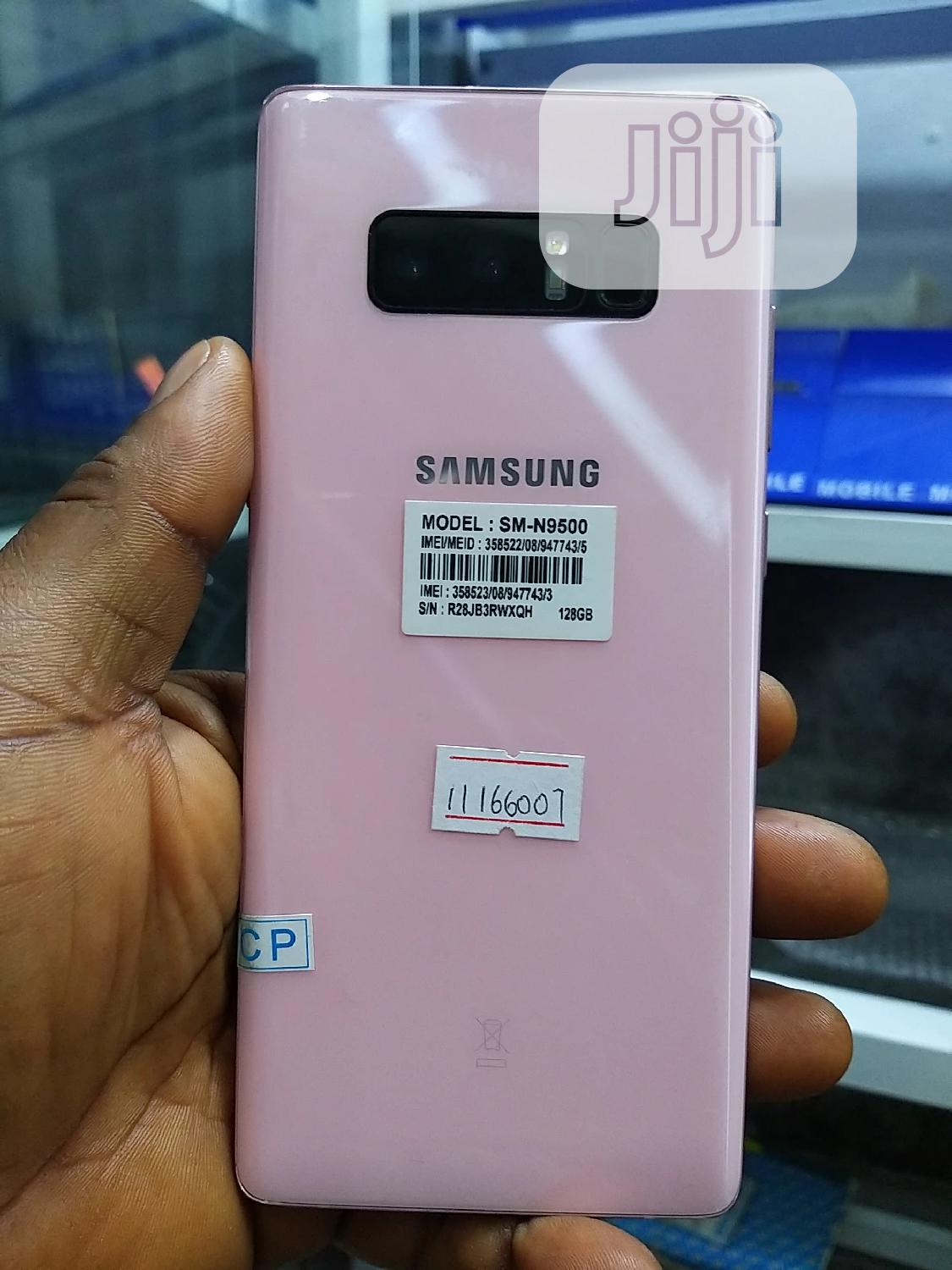 Samsung Galaxy Note 8 128 GB Pink | Mobile Phones for sale in Ikeja, Lagos State, Nigeria