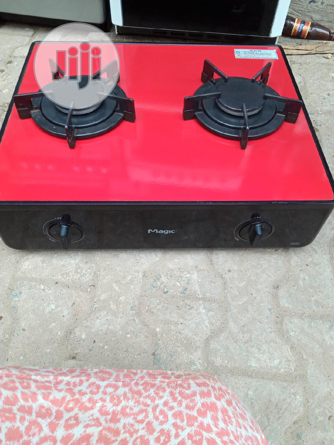 Strong Korea 2 Burner Gas Cooker With Battery Ignition