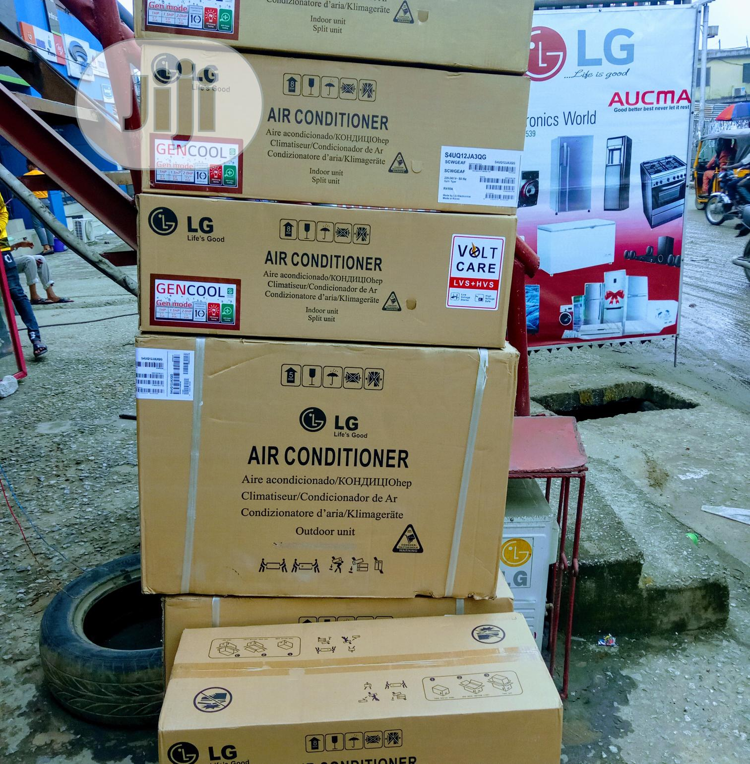 New Original} LG 1.5hp {Dual Inverter}AC Energy Cooling ++ | Home Appliances for sale in Ojo, Lagos State, Nigeria