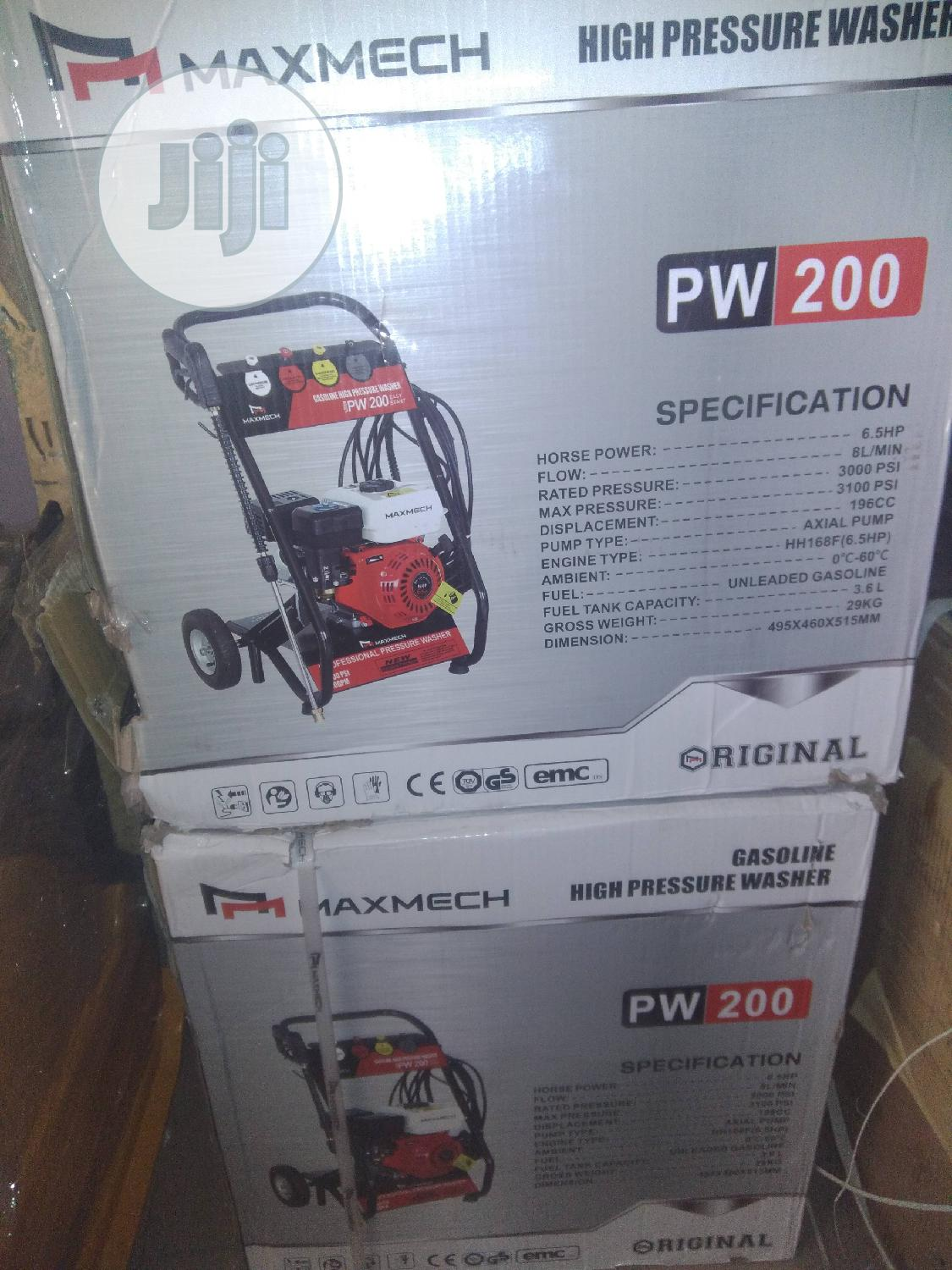6.5hp High Pressure Washing Machine | Cleaning Services for sale in Ojo, Lagos State, Nigeria