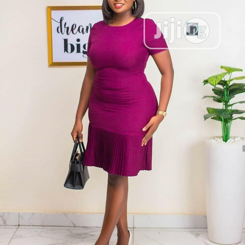 Sexy Ladies Pink Dress | Clothing for sale in Lagos Island (Eko), Lagos State, Nigeria