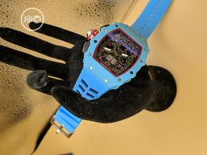 Blue Richard Mille Wristwatch With Chronograph Engine | Watches for sale in Lagos State, Lekki