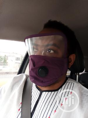 Fashion Nose Mask/Face Shield With 3D Beautiful Fitting | Safetywear & Equipment for sale in Lagos State, Lekki
