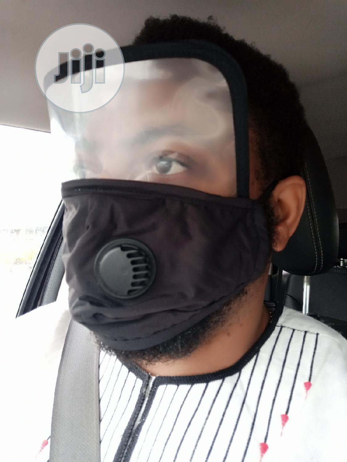 Fashion Nose Mask/Face Shield With 3D Beautiful Fitting | Safety Equipment for sale in Lekki, Lagos State, Nigeria