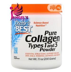 Doctor's Best Pure Collagen Types 1 3 Powder 7.1 Oz 200g   Vitamins & Supplements for sale in Lagos State, Ojo