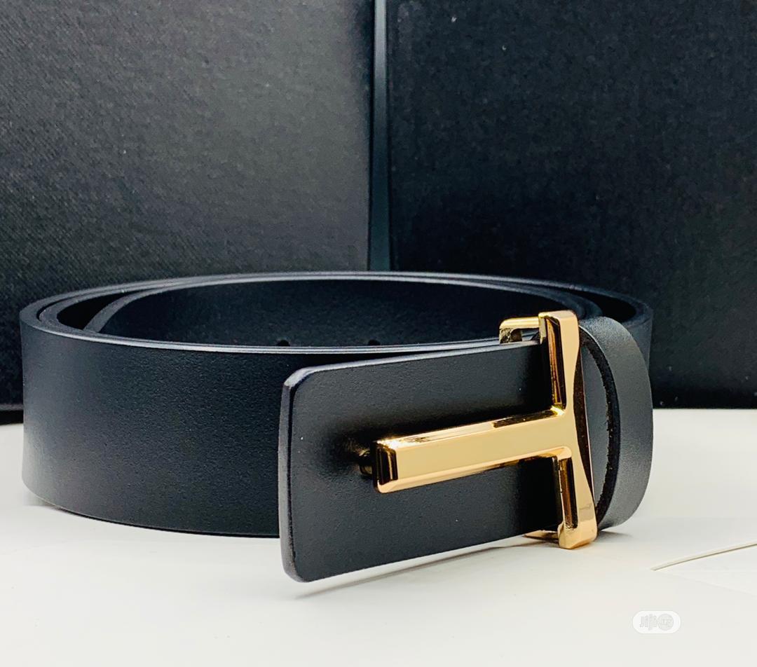 Tom Ford Leather Belt for Men's