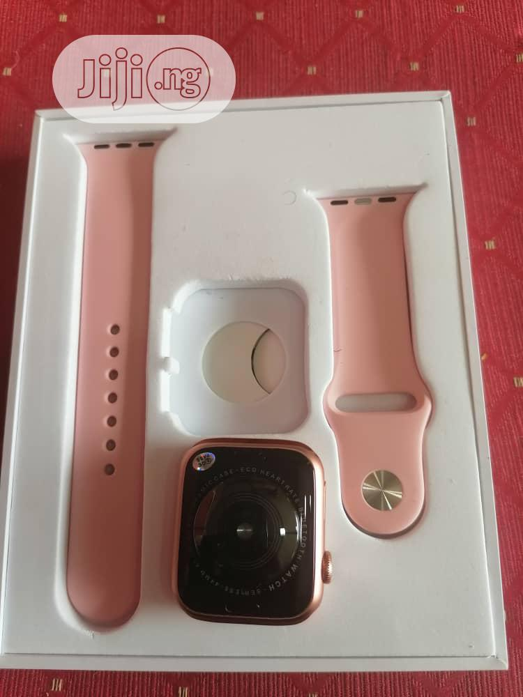 Superb Quality Series 5 Smart Watch   Smart Watches & Trackers for sale in Amuwo-Odofin, Lagos State, Nigeria