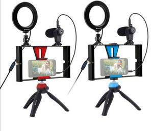 Live Video Recording Phone Selfie Ring Light Tripod | Accessories & Supplies for Electronics for sale in Lagos State, Ikeja