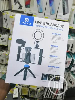 Puluz Ring LED Light Phone Tripod Stand | Accessories & Supplies for Electronics for sale in Lagos State, Ikeja