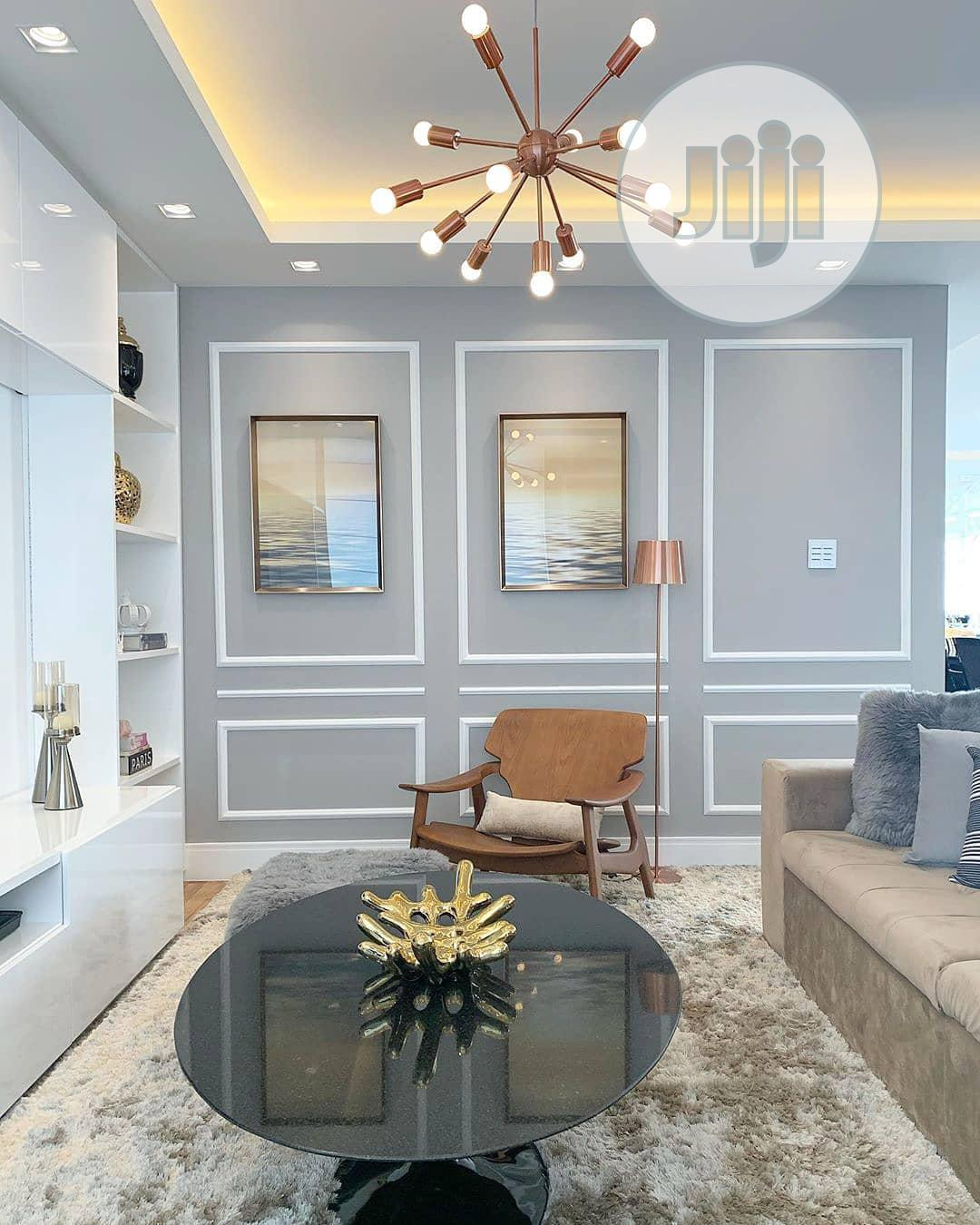Wallpaper, 3d Panel, Tv Wall Design,Pop Wall, Pop Ceiling . | Building & Trades Services for sale in Victoria Island, Lagos State, Nigeria