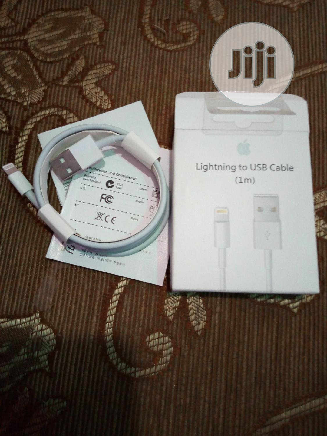 Original Apple iPhone Cable   Accessories for Mobile Phones & Tablets for sale in Wuse, Abuja (FCT) State, Nigeria