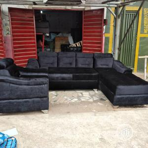New Set Of L-shaped Sofa With One Single. | Furniture for sale in Lagos State, Badagry