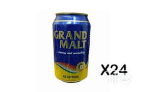 Grand Can Malt By 24pieces For Large Supply   Meals & Drinks for sale in Abuja (FCT) State, Maitama