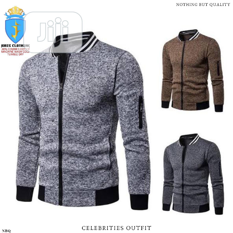 Men Cotton Ring Spun Bumber Jacket | Clothing for sale in Lagos Island, Lagos State, Nigeria