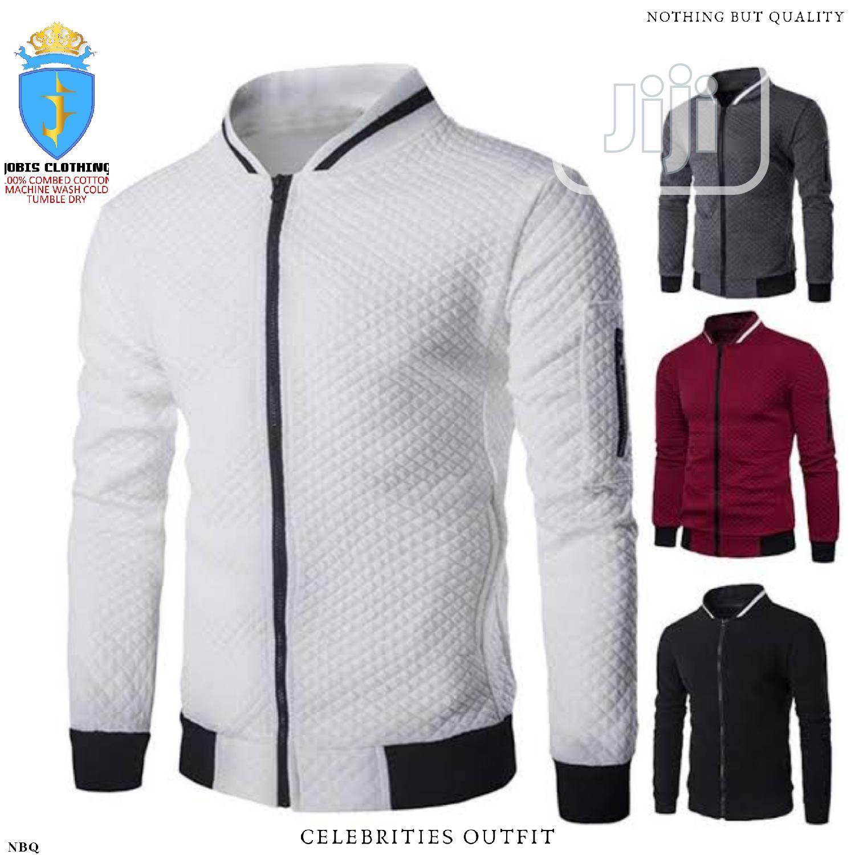 Men Cotton Ring Spun Bumber Jacket