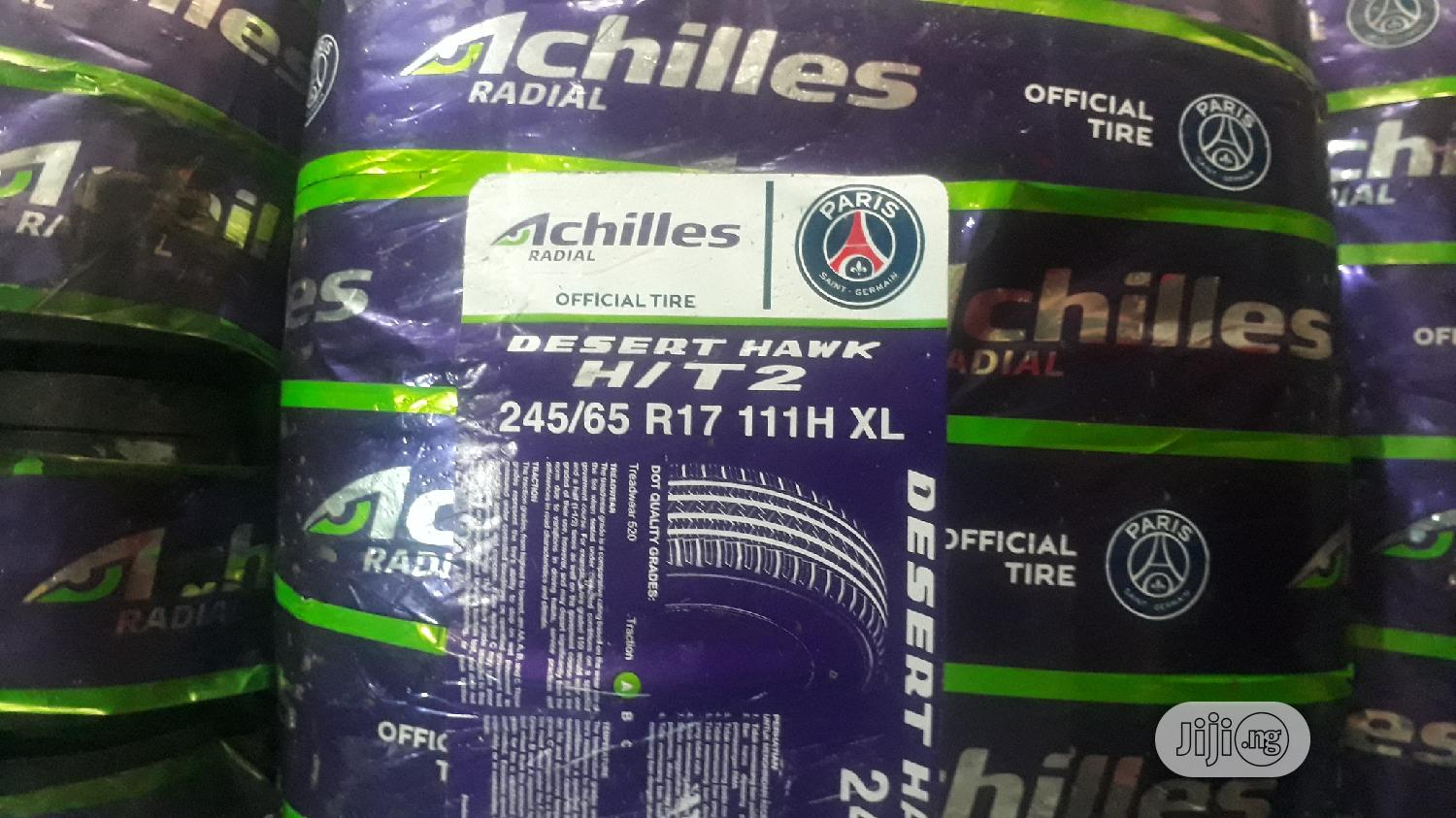 Brand New Achilles 245/65/17 (Made In Indonesia)