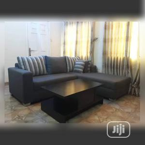 New Set of L-Shaped Sofa With a Center Table | Furniture for sale in Lagos State, Kosofe