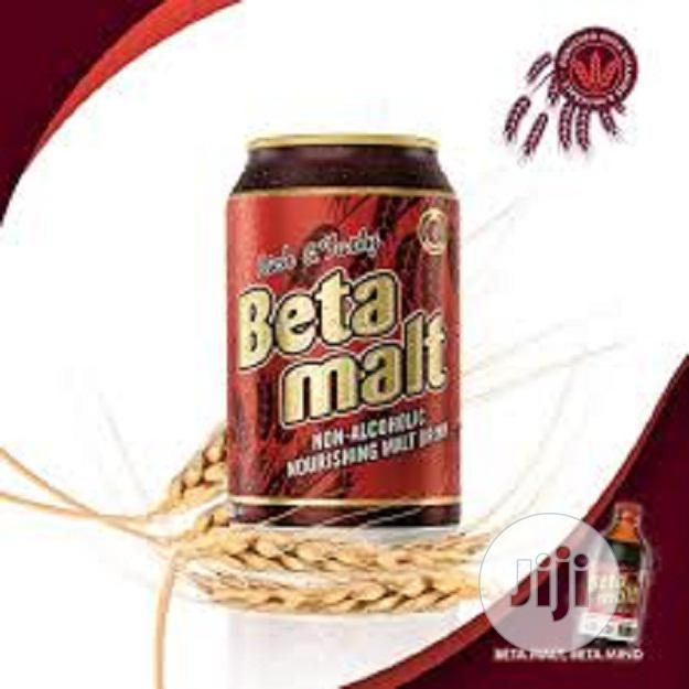 Beta Malt Drinks Can