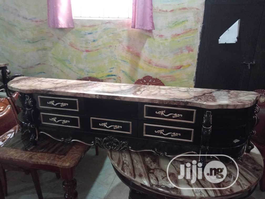 Brand New Imported Set of Royal Center Table and TV Stand. | Furniture for sale in Badagry, Lagos State, Nigeria