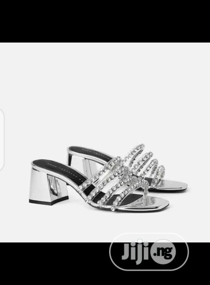 New Quality Female Sliders Heel Shoes