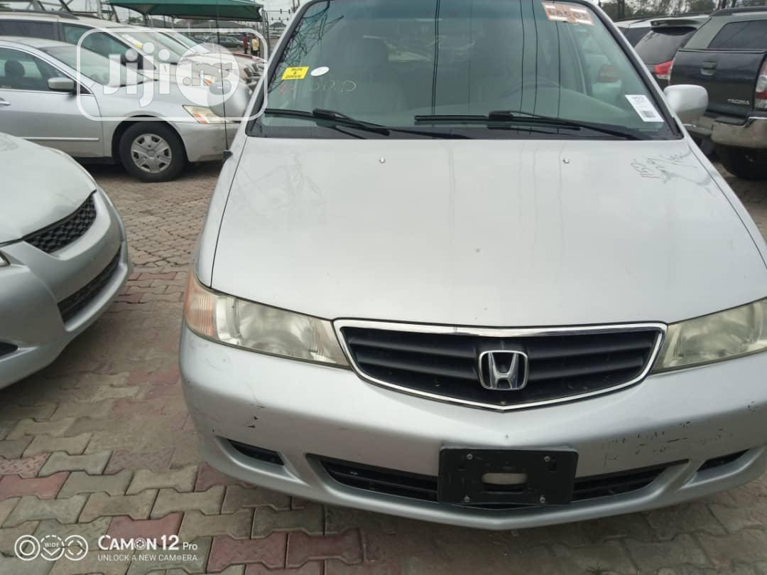 Honda Odyssey 2006 Touring Silver