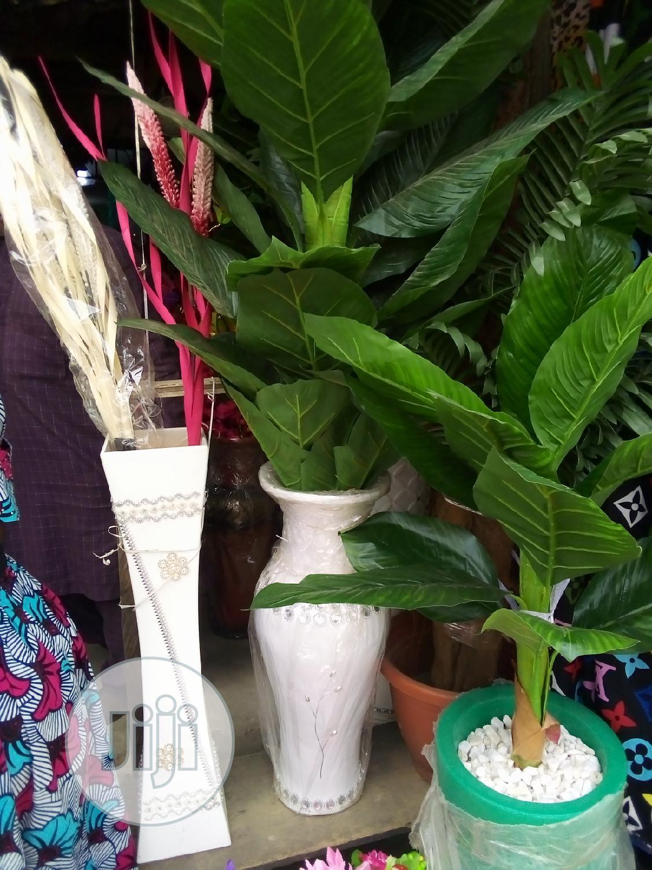 Unique Garden Tree Inside Fibre Flower Pots | Garden for sale in Ajah, Lagos State, Nigeria
