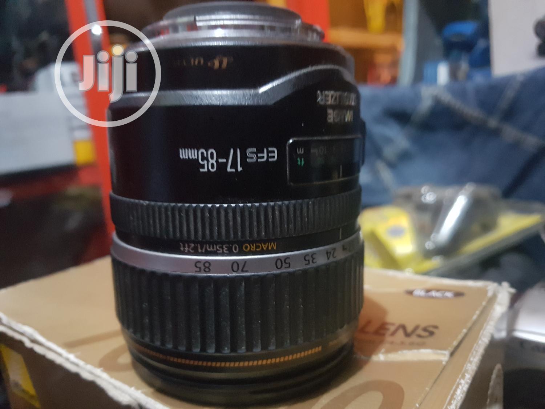 Canon Lens Efs 17-85mm