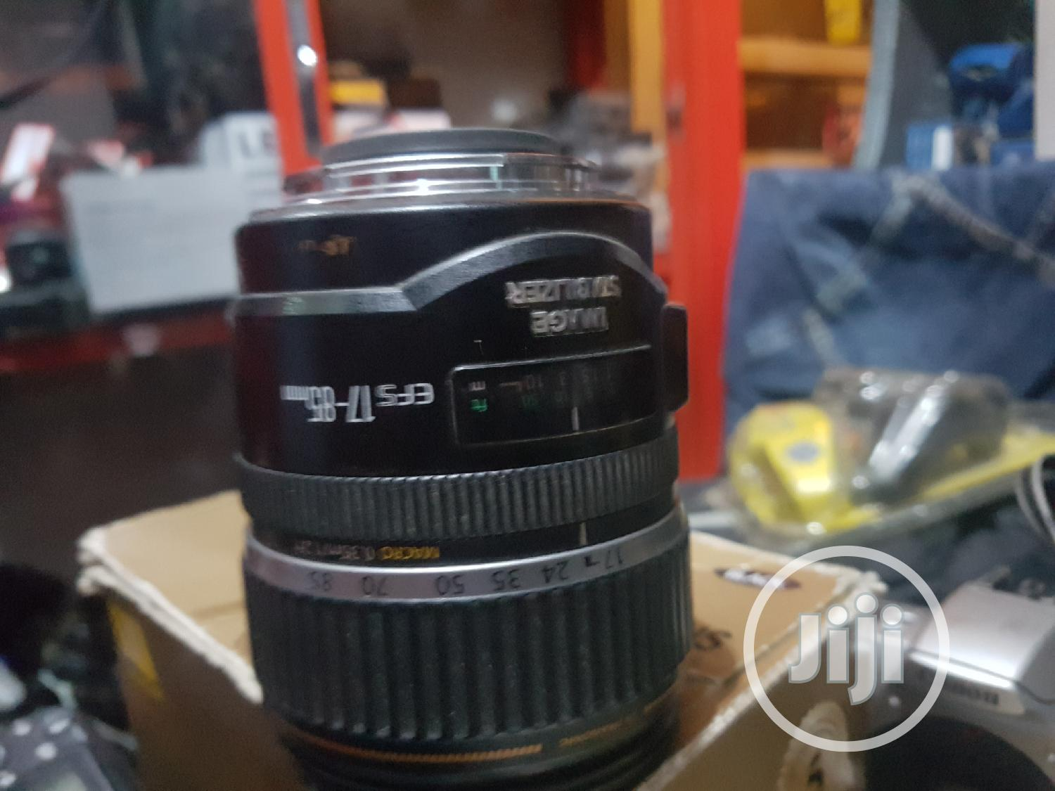 Canon Lens Efs 17-85mm   Accessories & Supplies for Electronics for sale in Ikeja, Lagos State, Nigeria