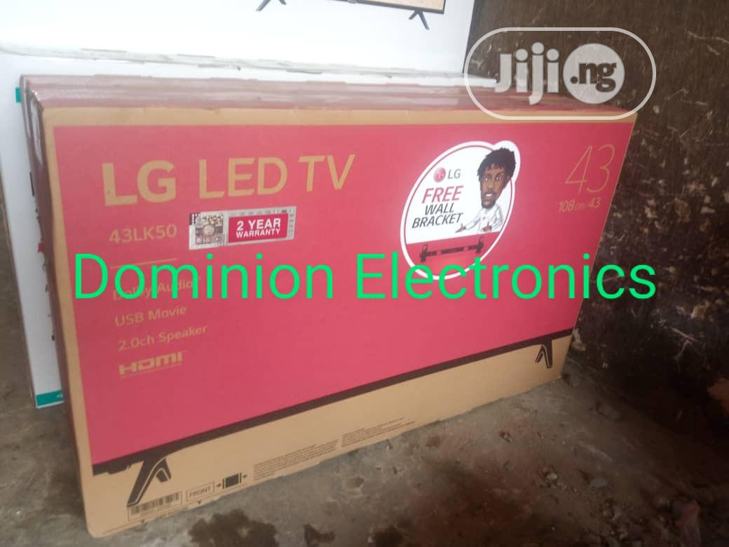 Original LG 43-inch Led Fullhd Energy Saving Free Bracket