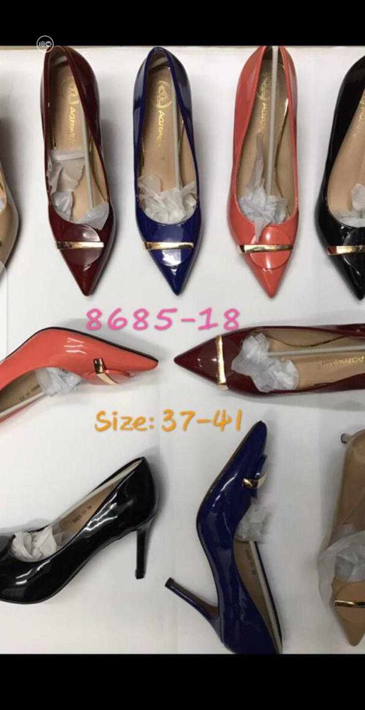 New Quality Female Pump Heel Shoes