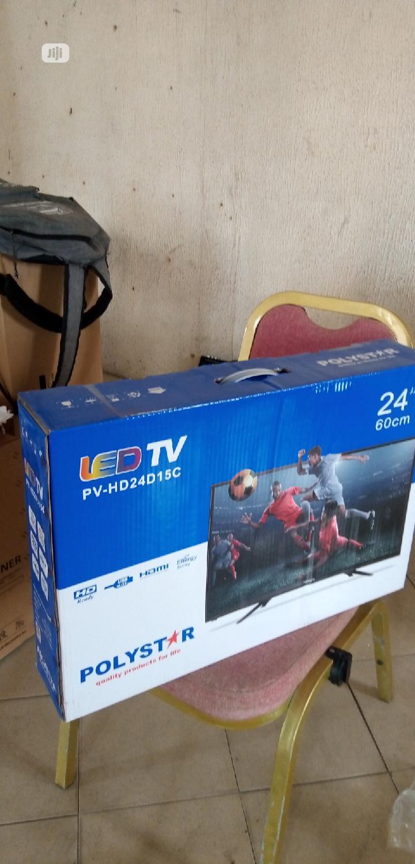 "Polystar (24""Inch) Led Fullhd Ready TV Low Energy Saving"
