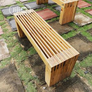 Outdoor Bench And Stool | Furniture for sale in Lagos State, Ajah